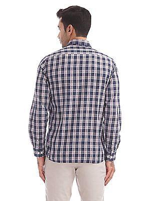 Arrow Sports Button Down Check Shirt