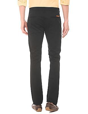 Ruggers Flat Front Skinny Fit Trousers