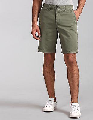 "GAP Green 10"" Vintage Wash Shorts With GapFlex"