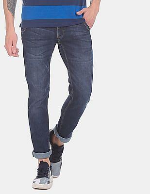 Cherokee Men Blue Slim Fit Low Waist Jeans