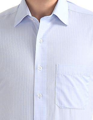 Arrow Slim Fit Striped Pattern Shirt