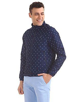 Bayisland Regular Fit Anchor Print Jacket