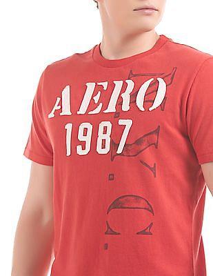 Aeropostale Appliqued Cotton T-Shirt