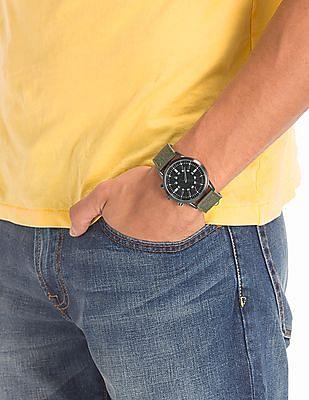 Aeropostale Fabric Strap Analogue Watch