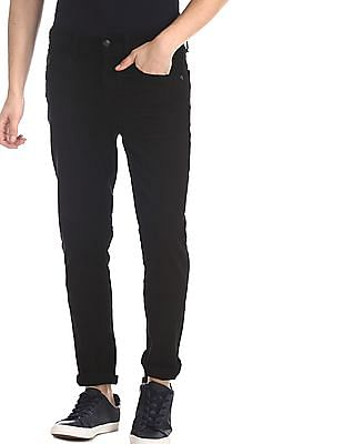 U.S. Polo Assn. Denim Co. Black Delta Slim Fit Rinsed Jeans
