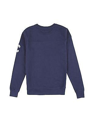 Cherokee Boys Colour Blocked Crew Neck Sweatshirt