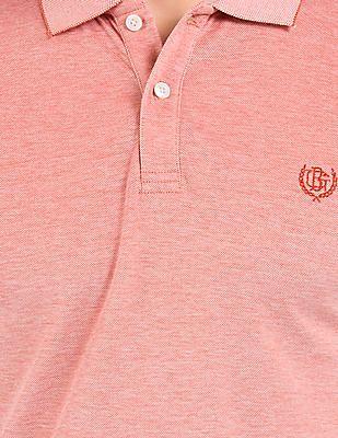 Geoffrey Beene Slim Fit Pique Polo Shirt