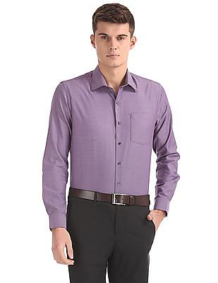 Arrow Slim Fit Chest Pocket Shirt