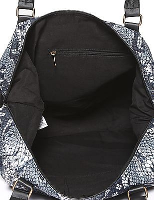 SUGR Detachable Strap Printed Hand Bag