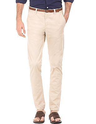 Cherokee Slim Fit Twill Trousers
