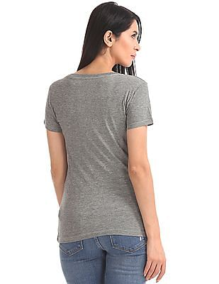 Aeropostale Short Sleeve V-Neck T-Shirt