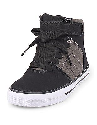 The Children's Place Boys Skate Rockstar Sneakers