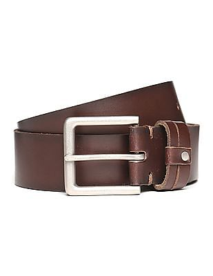 U.S. Polo Assn. Burnished Leather Belt