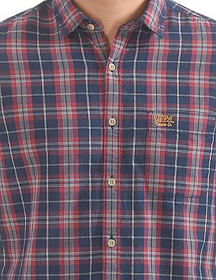 U.S. Polo Assn. Denim Co. Slim Fit Check Shirt
