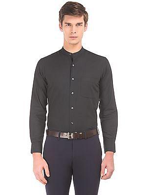 Arrow Regular Fit Mandarin Shirt