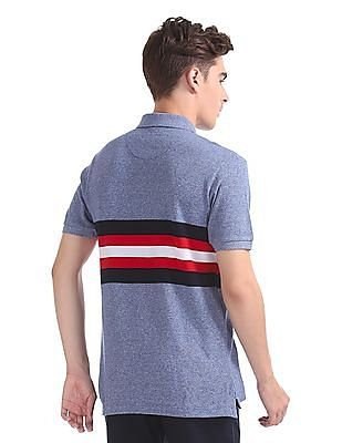 U.S. Polo Assn. Regular Fit Marled Knit Polo Shirt