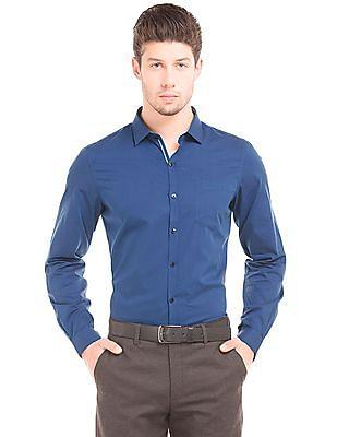 Elitus Solid Slim Fit Shirt