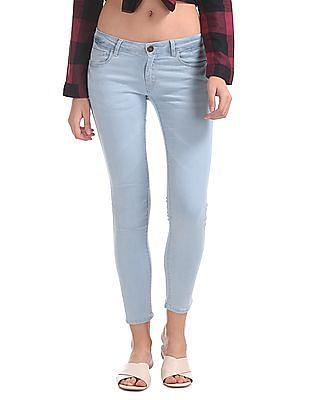 SUGR Regular Fit Stone Wash Jeans