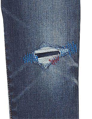 GAP Baby 1969 Rip And Repair High Stretch Slim Jeans