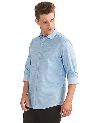 Ruggers Regular Fit Patterned Shirt