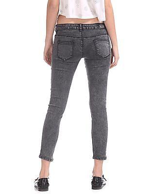 SUGR Skinny Fit Rinsed Jeans