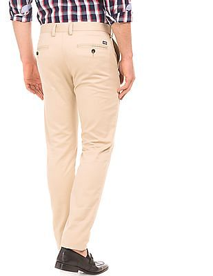 Arrow Sports Auto flex Waist Slim Fit Trousers