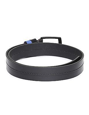 Flying Machine Chain Stitch Leather Belt