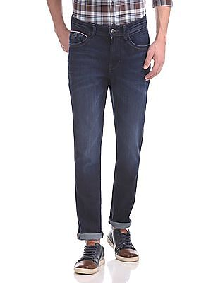U.S. Polo Assn. Denim Co. Delta Slim Tapered Fit Dark Wash Jeans