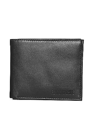 Flying Machine Bi-Fold Solid Wallet
