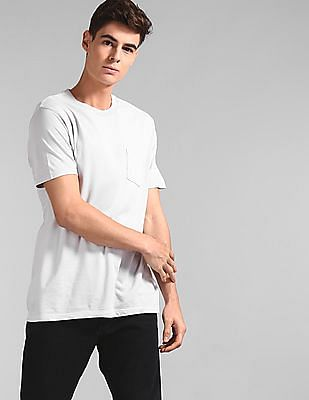 GAP Grey Vintage Wash Pocket T-Shirt