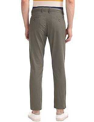 Arrow Sports Printed Slim Fit Chinos