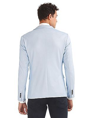 Arrow Slim Fit Printed Blazer