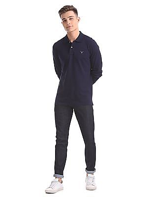 Gant The Original Pique Long Sleeve Rugger Polo