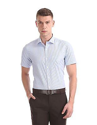 Excalibur Classic Regular Fit Check Shirt