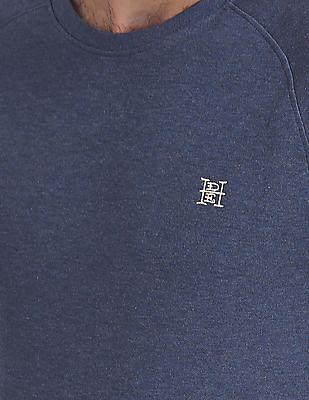 Ed Hardy Slim Fit Long Raglan Sleeve Sweatshirt