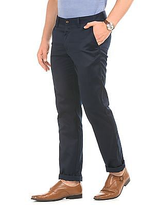 Arrow Sports Solid Wrinkle Resistant Chinos
