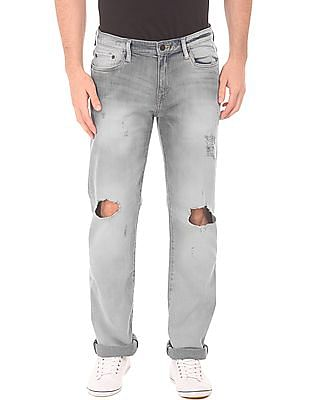 Aeropostale Stone Wash Ripped Jeans