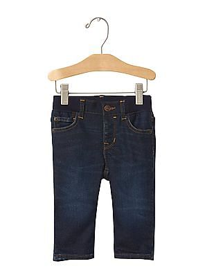GAP Baby Blue 1969 First Super Soft Straight Jeans