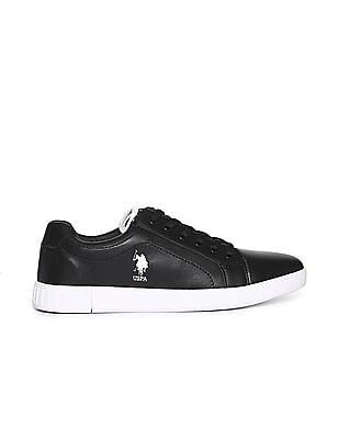 U.S. Polo Assn. Contrast Sole Lace Up Sneakers