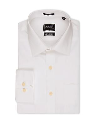 Arrow French Placket Patterned Shirt