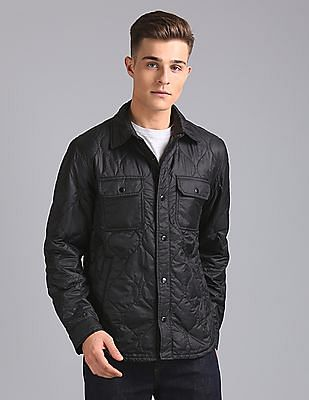 GAP Quilted Shirt Jacket