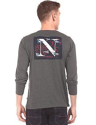 Nautica Long Sleeve Slim Fit T-Shirt