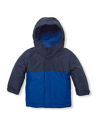 The Children's Place Baby Boy Colour Block Three-In-One Jacket