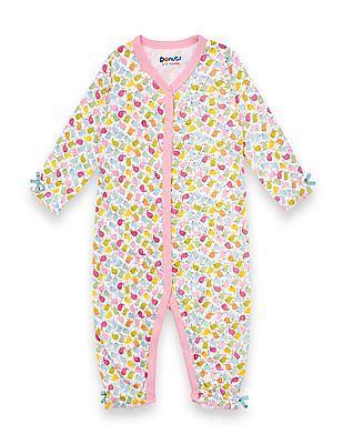 Donuts Unisex Kids Bird Print Bodysuit