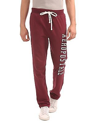 Aeropostale Appliqued Knit Track Pants