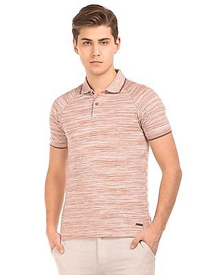 Cherokee Muscle Fit Space Dyed Polo Shirt