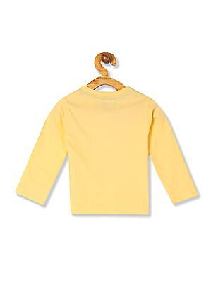 Donuts Boys Crew Neck Long Sleeve T-Shirt