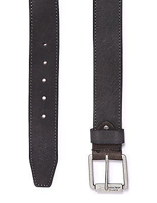 Flying Machine Metallic Buckle Leather Belt
