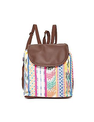 SUGR Patterned Cotton Backpack