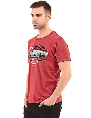 Izod Slim Fit Printed T-Shirt